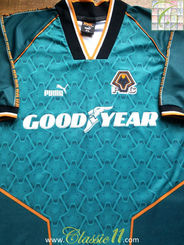 1996/97 Wolverhampton Wanderers Away Shirt (XL)