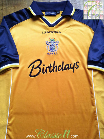 2001/02 Bury Away Shirt (M)