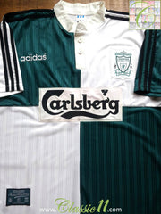 1995/96 Liverpool Away Football Shirt (XL)