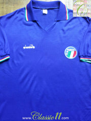 1990/91 Italy Home Shirt (XL)