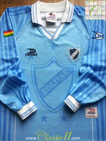 1997/98 Club Bolivar Home Shirt (S)
