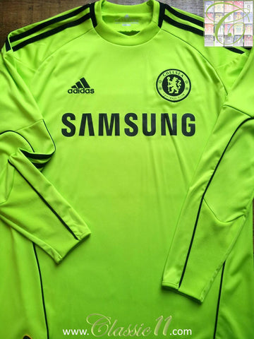 2010/11 Chelsea Goalkeepers Home Shirt (S)
