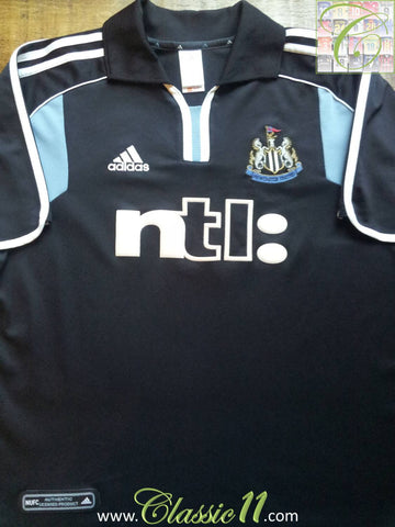 2000/01 Newcastle United Away Football Shirt (XL)