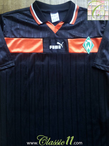 1998/99 Werder Bremen Away Football Shirt (S)