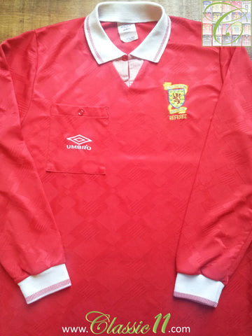 1991/92 Scotland Referee Shirt (L)