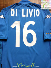 2002/03 Italy Home Shirt Di Livio #16 (XL)