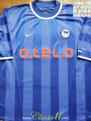 2000/01 Hertha Berlin Home Football Shirt (L)