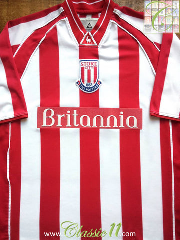 2001/02 Stoke City Home Football Shirt (L)