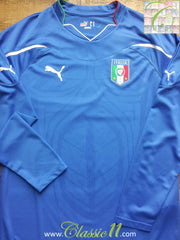 2010/11 Italy Home Shirt (M)