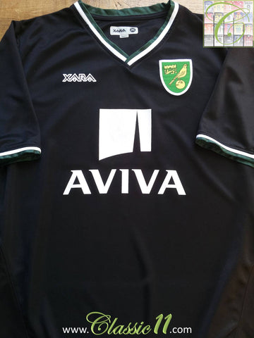 2008/09 Norwich City Away Shirt (S)