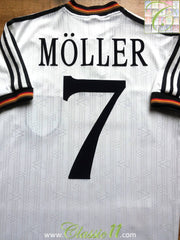 1996/97 Germany Home Shirt Möller #7 (S)