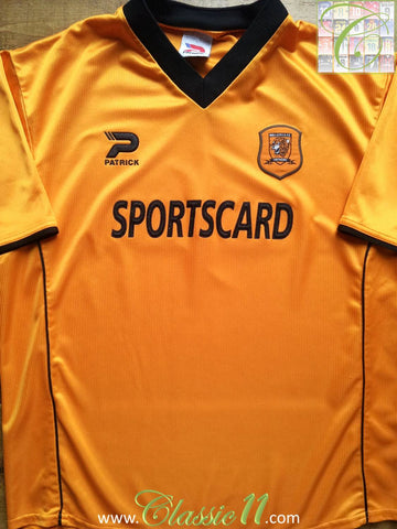2001/02 Hull City Home Fotball Shirt (XL)