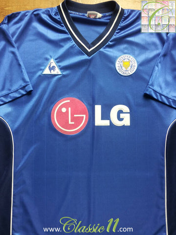 2002/03 Leicester City Home Shirt (L)