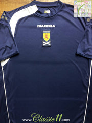 2005/06 Scotland Home Football Shirt (XL)