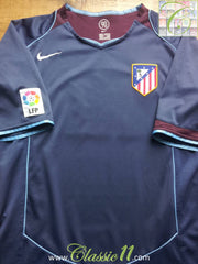 2004/05 Atlético Madrid Away La Liga Football Shirt (M)
