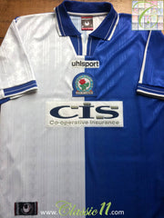 1998/99 Blackburn Rovers Home Football Shirt (L)