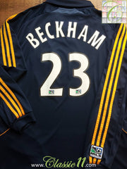 2007/08 LA Galaxy Away MLS Shirt Beckham #23 (XL)