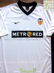 2001/02 Valencia Home Basic Football Shirt (L)