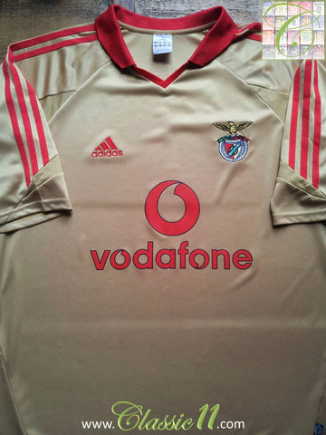 2004/05 Benfica Away Football Shirt (L)