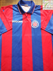 1996/97 Hadjuk Split Away Football Shirt (L)
