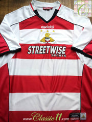 2005/06 Doncaster Rovers Home Football Shirt (L)