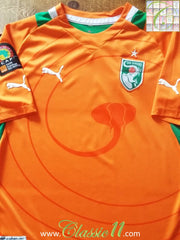 2012/13 Ivory Coast Home Football Shirt (M)