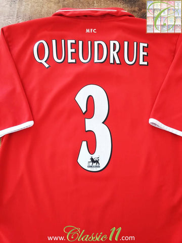2003/04 Middlesbrough Home Premier League Football Shirt Queudrue #3