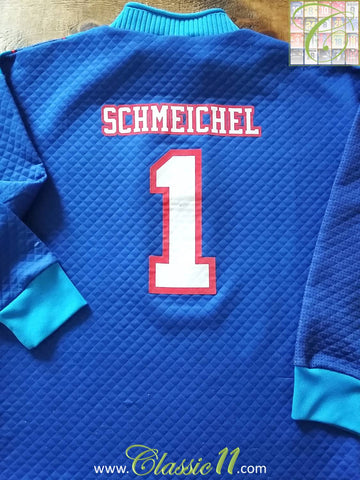 1995/96 Man Utd Goalkeeper Football Shirt Schmeichel #1 (Y)