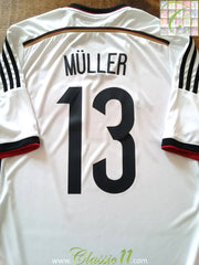 2014/15 Germany Home Football Shirt Müller #13 (L)
