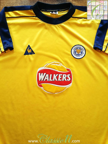 1999/00 Leicester City 3rd Football Shirt (L)