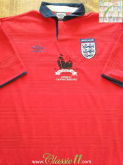 2000/01 England Away Football Shirt 'Wembley Stadium' (XL)