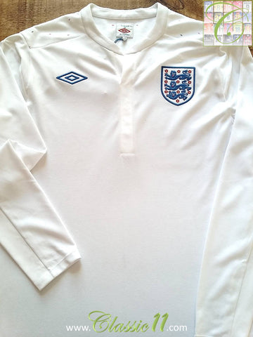 2010/11 England Home Football Shirt (L)