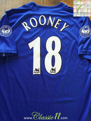 2002/03 Everton Home Football Shirt Rooney #18 (XXL)