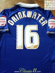 2011/12 Leicester City Home Championship Football Shirt Drinkwater #16 (M)