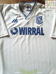 1997/98 Tranmere Rovers Home Football Shirt (L)
