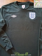2009/10 England Goalkeeper Football Shirt (M)