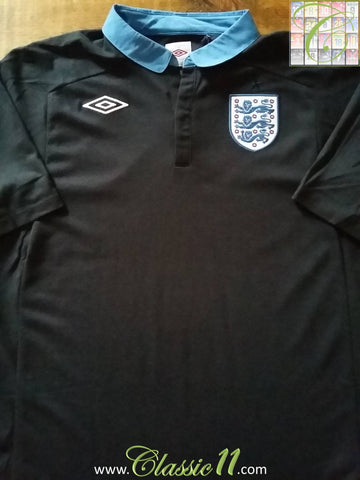 2011/12 England Away Football Shirt (XL)