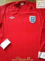 2010 England Away Football Shirt (XL). *BNWT*