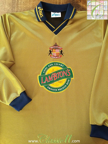 1997/98 Sunderland Away Football Shirt. (L)
