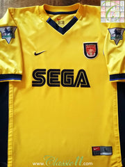 1999/2000 Arsenal Away Premier League Football Shirt (L)