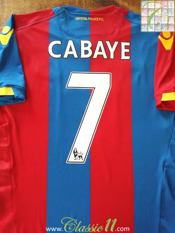 2015/16 Crystal Palace Home Player Issue Football Shirt Cabaye #7 (XXL) *BNWT*