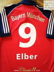 1999/00 Bayern Munich Home Football Shirt Eber #9 (S)