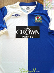 2008/09 Blackburn Rovers Home Football Shirt (M)