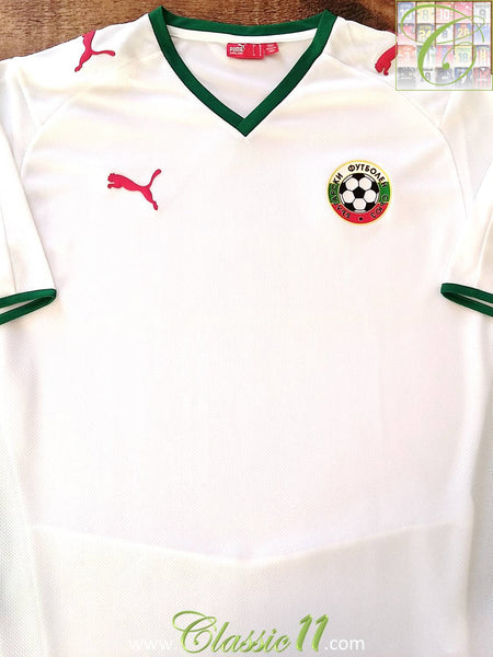 a91949434 2008/09 Bulgaria Home Football Shirt / Original Soccer Jersey ...