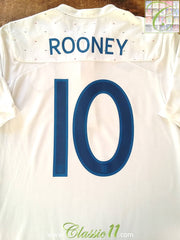 2010/11 England Home Football Shirt Rooney #9 (M)