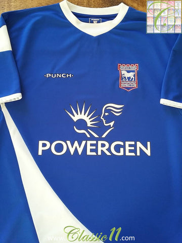 2005/06 Ipswich Town Home Football Shirt (L)