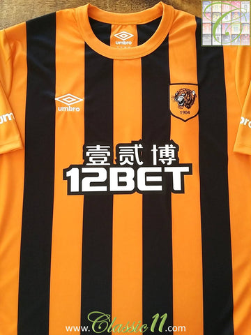 2014/15 Hull City Home Football Shirt (XL) *BNWT*
