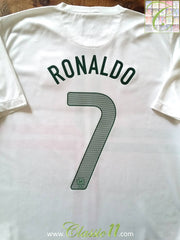 2012/13 Portugal Away Football Shirt Ronaldo #7 (L)