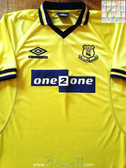 1998/99 Everton 3rd Football Shirt (XL)