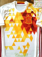 2016/17 Spain Away Football Shirt (S)
